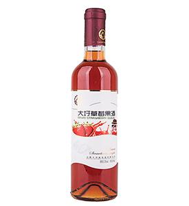 老虎机官网草莓果酒500ml